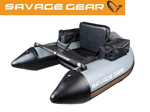 Savage Gear High Rider Belly Boat 150 - Bellyboot zum Bootsangeln im See & Meer, Schlauchboot, Bellyboat, Belly Boot