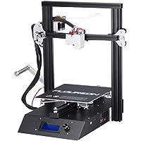 FLOUREON J1 Stampante 3D DIY in Alluminio con Struttura in Metallo Pieno Alta Precisione Schermo Retroilluminato LCD