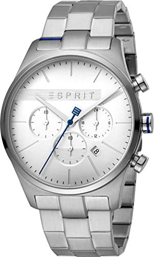 Esprit Reloj Cronógrafo para Hombre de Cuarzo con Correa en Acero Inoxidable ES1G053M0045