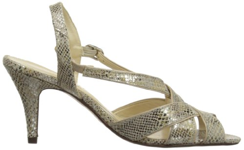 Van Dal Rushall Damen Sling Backs Metallic Print