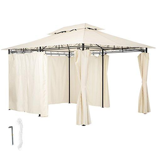 TecTake Carpa pabellón de lujo tienda para eventos y fiestas de jardin...
