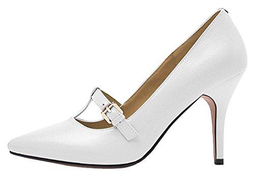 Guoar - Scarpe chiuse Donna - B-Weiß