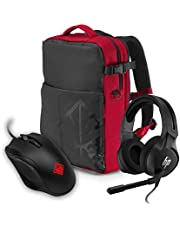 HP Gaming OMEN 400 Mouse Rugged Backpack and Mousepad Combo