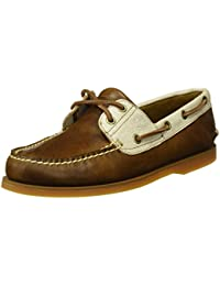 Timberland Herren Classic Boat 2 Eyerubber Chaos W/Croissant Mystic Bootsschuhe
