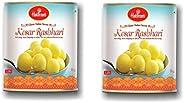 Haldiram's Kesar RASBHARI 1 KG X 2 Pcs