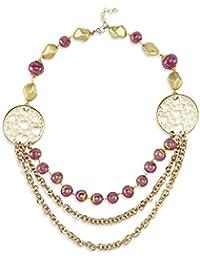 Shaze Spring Beauty Bead Necklace For Women