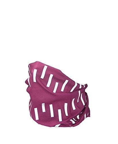 Pink Reflektierende Hi Sichtbarkeit Tube Schal–RUFFNEK® Multifunktions-Neckwarmer, Beanie Hat–Designed für Sicherheit–Frauen, Männer & Kinder (Diagonal-streifen-schal)