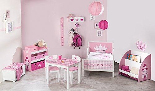 Roba Corona, Erie Muebles Infantiles en rosa y blanco, varios Muebles para Princesas rosa Rosa / Pink