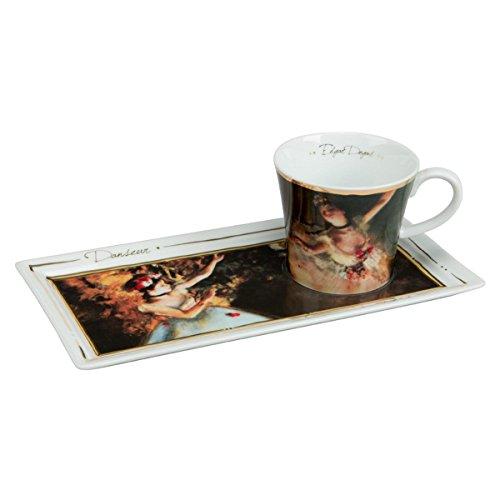 Goebel 66513854'Tänzerinnen Kaffee Set, Porzellan, bunt, 24 x 12 x 8 cm