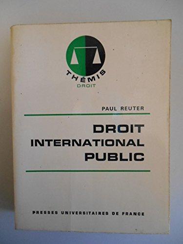 Droit international public / Reuter, Paul / Rf42473