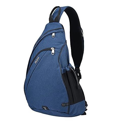 Mixi Multipurpose Sling Cross Body Bag Shoulder Backpack School Outdoor
