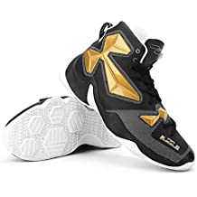 RoadRomao Zapatillas de Baloncesto con Cordones Delanteras HM63020 Calzado de fútbol portátil y Antideslizante