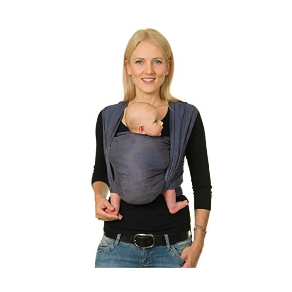 Hoppediz Woven Baby Sling, Chicago Blue Hoppediz Suitable from birth until parent or child chooses to stop carrying 100% cotton Special broken twill weave 1