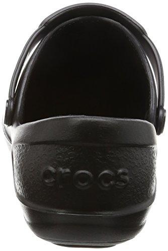 crocs Mercy Work 10876, Damen Sicherheitsschuhe Schwarz (Black/Black)