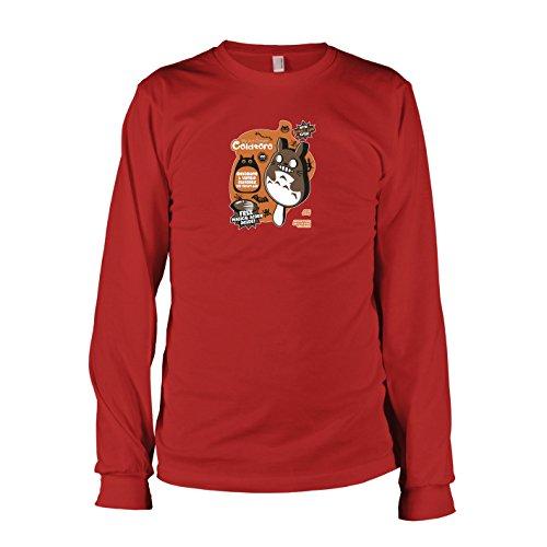 TEXLAB - Cold Toro - Langarm T-Shirt, Herren, Größe XXL, rot (Mei Kusakabe Kostüm)