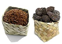 Udankudi Natural Palm Jaggery & Palm Sugar Combo - 450gm + 450gm   Karupatti   Panakarkandu