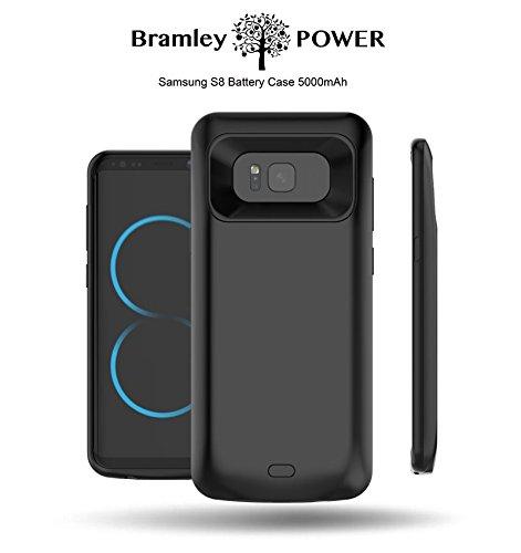 Bramley Power cover di alimentazione, portatile e ricaricabile Samsung Galaxy S8 5000mAh