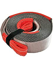 Haathi Winch Tow Strap - 15 feet x 3 inches - 15 Ton Break Strength (Weight: 1.8 kgs)