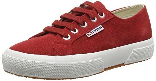 Superga 2750 SUEU, Sneakers Basses Mixte Adulte, Taille Unique Rouge (104 Scarlet)