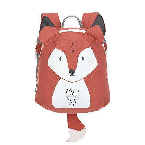 LÄSSIG Kinderrucksack für Kita Kindertasche Krippenrucksack mit Brustgurt/Tiny Backpack, About Friends Fox