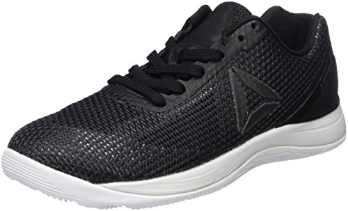 Reebok R Crossfit Nano 7.0, Sneaker Basses Femme Noir (Nero Black/lead/white)