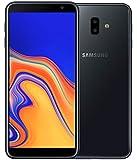 Samsung SM-J610F Galaxy J6+ Dual SIM Smartphone (Display 15,26 cm (6 Zoll), 13 MP Kamera, Android), 32 GB Schwarz