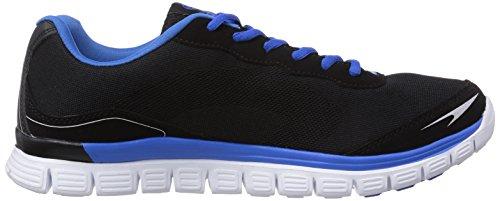 Dockers by Gerli  36LN001, Sneakers basses homme Noir - Schwarz (schwarz/hellblau 161)