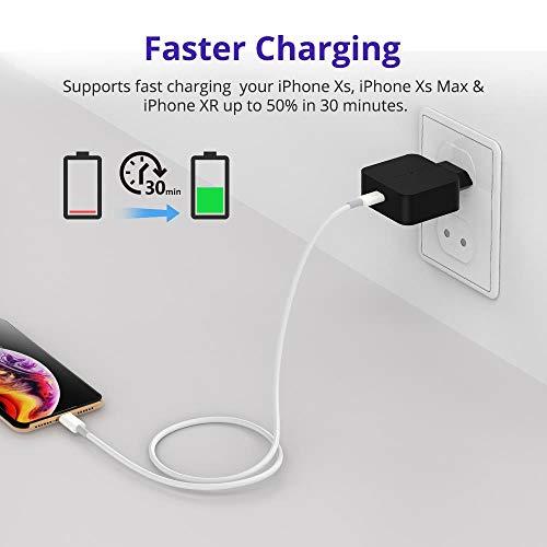 Caricabatterie-USB-da-Muro-PD-30-Tronsmart-Rapida-Carica-Caricatore-18W-15V12APower-Delivery-30e-QC-30-e-QC-40-per-iPhone-iPad-Huawei-Samsung-Galaxy-Tablet-e-Altri-Dispositivi-USB