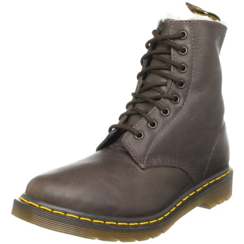 Dr. Martens SERENA Polished Laredo 13239201, Damen Fashion Stiefel, Braun (DKBROWN), EU 43 (UK 9)