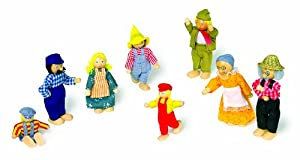 Goki So305 - Familia de la Granja para Casa de Muñecas
