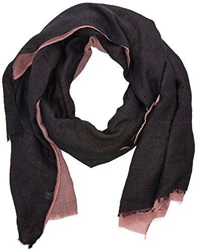 HÄRVIST Htcfrn, Fulár Unisex Adulto, Multicolor (Rosa/Negro), One Size (Tamaño del Fabricante:Única)