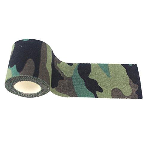 5m x 4.6cm Camouflage Gewebeband Bandrolle