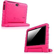 Fintie Kiddie funda case Carcasa Funda para 7pulgadas Android Tablet PC incluye. Dragon Touch Y88X 7pulgadas Tablet PC, trimeo 7pulgadas Tablet PC, Ares Park Ultrathin 7pulgadas Tablet PC, yuntab 7pulgadas Y88Tablet PC, NINETEC 7pulgadas Tablet PC, EAGLERISE eTech 7Inch Tablet PC, PHROG7Tablet PC (7pulgadas), Rixow Ultrathin 7Inch Tablet PC, jeja 7pulgadas Android Google Tablet PC, Rotor® 17,8cm (7pulgadas) Android Tablet PC, *Magenta 7 Zoll Tablet (Kiddie Handle)