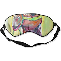 Sleep Eye Mask Camel Abstract Lightweight Soft Blindfold Adjustable Head Strap Eyeshade Travel Eyepatch preisvergleich bei billige-tabletten.eu