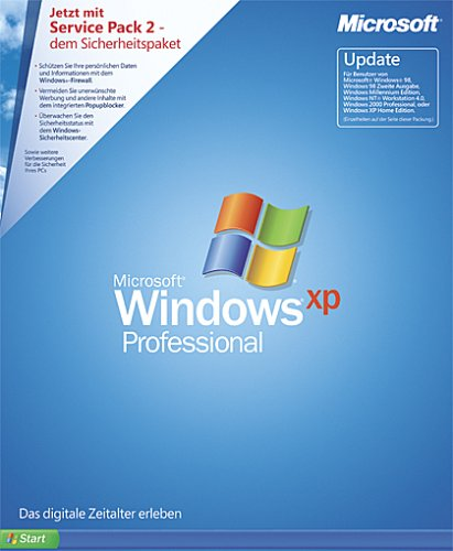 Windows XP Professional Update inkl. Service Pack 2 (PC)