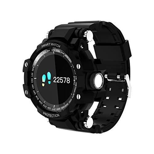 Smart Watch Bracelet Fitness Tracker OLED Blutdruck,Black