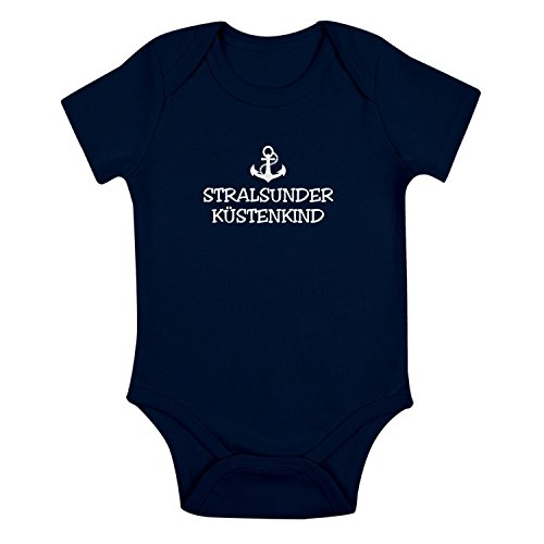 Babybody - Stralsunder Küstenkind - Anker Stralsund Schiffsanker Küste Maritim
