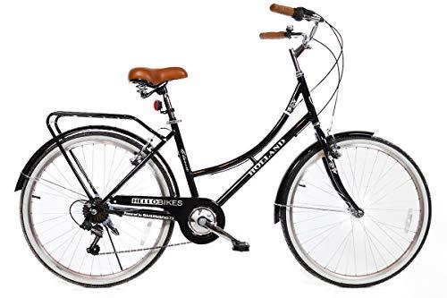 """Modell Holland 26"""" Damen City Fahrrad mit Shimano 7-Gang Kettenschaltung"""