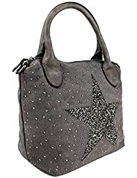 Ladies Star Bucket Bag Women Sparkling Diamante Star Crossbody Shoulder Bag
