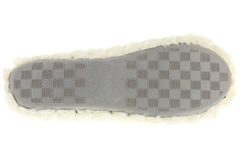 MIK Funshopping - Pantofole Donna Bianco sporco