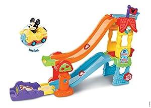 VTech Tut Tut Bolides La Maison Toboggan Magique de Mickey Niño/niña - Juegos educativos (AAA, 350 mm, 133 mm, 279 mm, 1,62 kg)