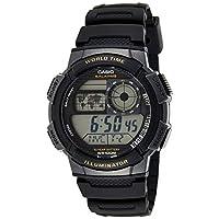 Casio Men's Digital Dial Resin Band Watch - AE-1000W-1AVDF