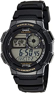 Casio Men's Dial Silicone Band Watch - AE-1000W-1
