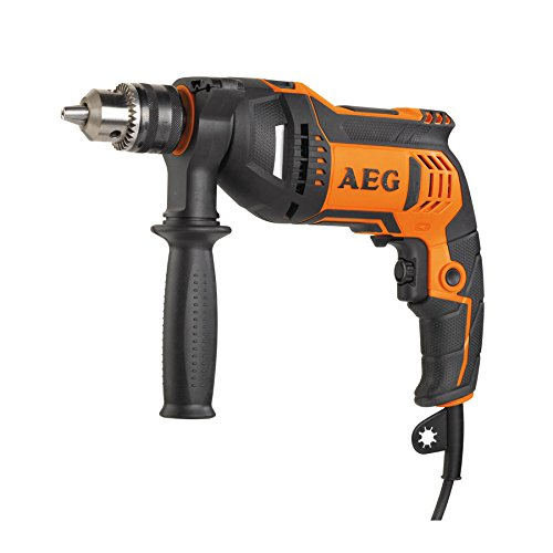 AEG SBE 750RZ Schlagbohrmaschine 650W, Port Aut. 10mm, par Maximum 23Nm -
