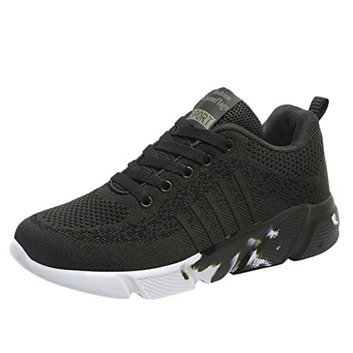 SHE.White Laufschuhe Herren Damen,Paar Unisex Turnschuhe Sportschuhe Straßenlaufschuhe Sneaker Atmungsaktiv Trainer für Running Fitness Gym Outdoor 36-44