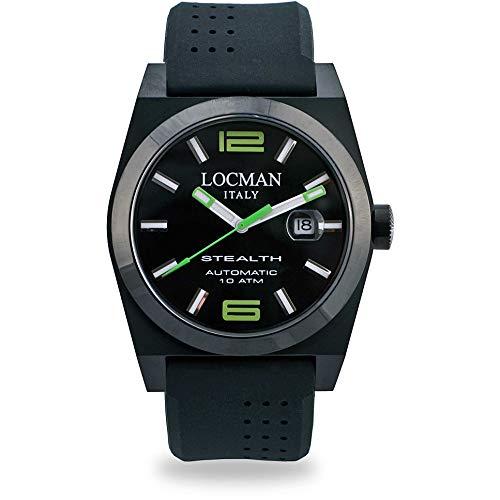 orologio meccanico donna Locman Stealth casual cod. 0205BKBKNGR0GOK