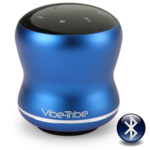 Vibe-Tribe Mamba Yale Blue - 18 Watt Haut-parleurs a Vibration Sans Fil, Bluetooth, NFC, Ecran Tactile, Connexions en série & Mains-libres