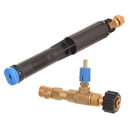 Schaumlanze Hochdruck Reinigungsmittelinjektor Injector Düse für Hochdruckreiniger Karcher HD HDS M22 M18 Kranzle 12-25 l/min