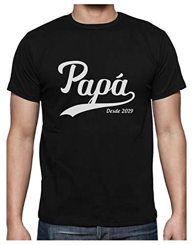 Green Turtle Camiseta Hombre - Papá Desde 2019 -