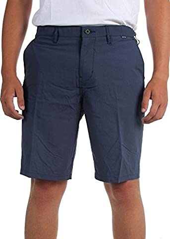 Hurley - - Dri-Fit Chino Shorts pour hommes, 34, Obsidian